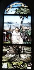 Eglise Notre-Dame-du-Soldat - Français:   vitrail de l\'église de Hans , Notre-Dame du Soldat .
