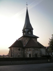 Eglise - This building is indexed in the Base Mérimée, a database of architectural heritage maintained by the French Ministry of Culture,under the reference PA00078719 .