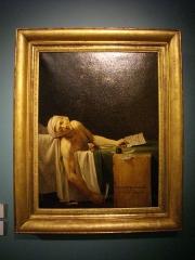 Abbaye Saint-Denis - Musée des beaux-arts de Reims (Marne, France): atelier de David, La mort de Marat, v. 1793