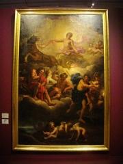Abbaye Saint-Denis - Musée des beaux-arts de Reims (Marne, France): Jean Jouvenet, Apollon et le char du soleil avec l'assemblée des dieux, année 1680