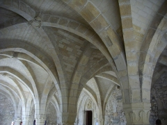 Ancien archevêché, actuellement Palais du Tau - Salle basse du Palais du Tau à Reims (Marne, France)