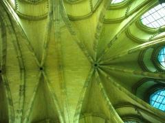 Ancien archevêché, actuellement Palais du Tau - Français:   Palais du Tau à Reims (Marne, France). Voûtes de la chapelle haute