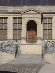 Ancien archevêché, actuellement Palais du Tau - Palais du Tau à Reims (Marne, France), escalier principal