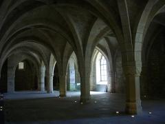 Ancien archevêché, actuellement Palais du Tau - Palais du Tau de Reims (Marne, France), salle basse