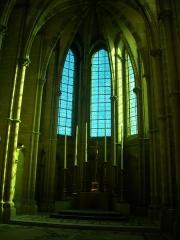 Ancien archevêché, actuellement Palais du Tau - Français:   Palais du Tau à Reims (Marne, France). Chapelle haute