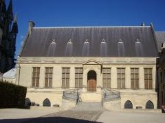 Ancien archevêché, actuellement Palais du Tau - Français:   Palais du Tau à Reims (Marne, France)