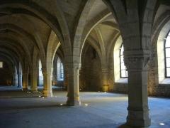 Ancien archevêché, actuellement Palais du Tau - Palais du Tau à Reims (Marne, France). Salle basse