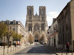 Cathédrale Notre-Dame - Nederlands: Cathédrale Notre-Dame de Reims