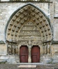 Cathédrale Notre-Dame - English: Cathédrale Notre-Dame de Reims, France, side portal (north).