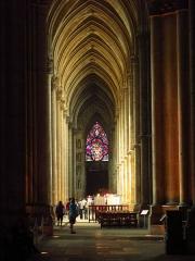 Cathédrale Notre-Dame - Collatéral nord de la cathédrale de Reims, place du Cardinal Lucon, 51100 Reims.