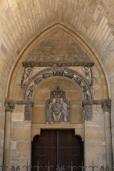 Cathédrale Notre-Dame - This building is indexed in the Base Mérimée, a database of architectural heritage maintained by the French Ministry of Culture,under the reference PA00078776 .