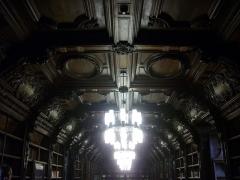 Ancien collège des Jésuites, actuellement Hospice général Museux - Bibliothèque de l'ancien collège des Jésuites de Reims (Marne, France)