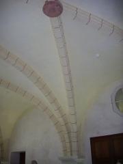 Ancien collège des Jésuites, actuellement Hospice général Museux - Cuisine de l'ancien collège des Jésuites de Reims (Marne, France)