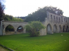 Couvent des Cordeliers (ruines du) - Français:   Ruines du Couvent des Cordeliers de Reims (Marne, France)