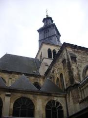 Eglise Saint-Jacques - Église Saint-Jacques de Reims (Marne, France), clocher