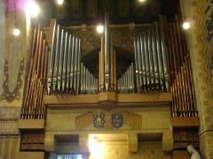 Eglise Saint-Nicaise - Intérieur de l'église Saint-Nicaise de Reims (Marne, France): orgue