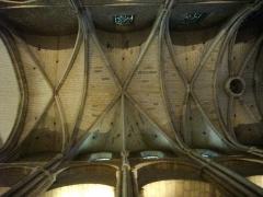 Eglise Saint-Rémi - Basilique Saint-Remi de Reims (Marne, France). Nervures du transept nord