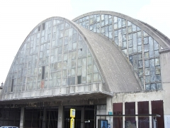Halles centrales - English: Former central market in Rheims, France.