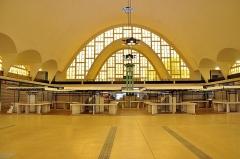 Halles centrales - Halles centrales de Reims (Marne, 51)