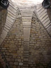 Ancien hôtel-Dieu, actuellement annexe du palais de justice - Salles basses du palais de justice de Reims (Marne, France)