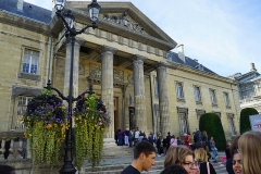 Ancien hôtel-Dieu, actuellement annexe du palais de justice - visite commentée du palais de justice lors des journées du patrimoine.
