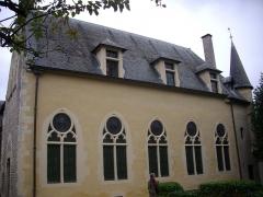 Hôtel Le Vergeur - Français:   Musée-hôtel Le Vergeur à Reims (Marne, France), vu depuis la cour intérieure