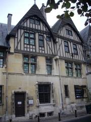 Hôtel Le Vergeur - Français:   Musée-hôtel Le Vergeur à Reims (Marne, France), façade sur la place du Forum