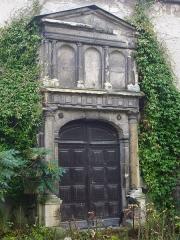 Hôtel Le Vergeur - Français:   Musée-hôtel Le Vergeur, à Reims (Marne, France), portail de l\'ancienne église Saint-Pierre-le-Vieil