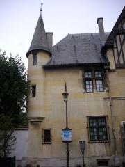 Hôtel Le Vergeur - Musée-hôtel Le Vergeur à Reims (Marne, France), tourelle place du Forum