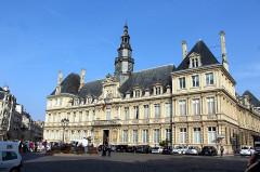 Hôtel de ville - English: Reims, the town hall