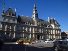 Hôtel de ville - Français:   L\'Hôtel de ville de Reims (51).