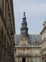 Hôtel de ville - English: Hotel de La Ville - Reims