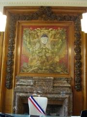 Hôtel de ville - Français:   Hôtel de ville de Reims (Marne, France), bureau du maire
