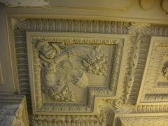 Hôtel de ville - Français:   Hôtel de ville de Reims (Marne, France), salle du conseil, plafond