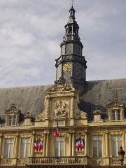 Hôtel de ville - Hôtel de ville de Reims (Marne, France), clocheton