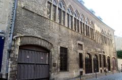 Immeuble - English: Reims, house 22 Rue de Tambour (Demeure des Comtes de Champagne)