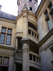 Maison natale de Jean-Baptiste de la Salle - Hôtel Jean-Baptiste de La Salle à Reims (Marne, France), escaliers