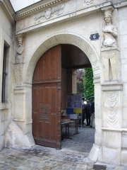 Maison natale de Jean-Baptiste de la Salle - Hôtel Jean-Baptiste de La Salle à Reims (Marne, France), portail