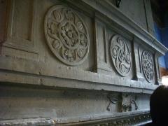 Maison natale de Jean-Baptiste de la Salle - Hôtel Jean-Baptiste de La Salle à Reims (Marne, France), cheminée de la troisième salle du musée