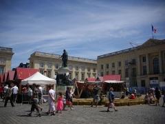 Place Royale - Français:   Fêtes johanniques de Reims (Marne, France), place Royale