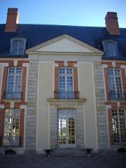 Domaine du château - Château de Réveillon (Marne, France), façade occidentale