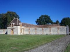 Domaine du château - Château de Réveillon (Marne, France), communs