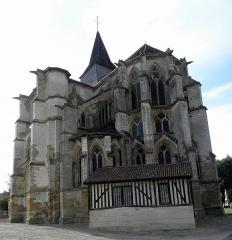 Eglise Saint-Amand - Église Saint-Amand de Saint-Amand-sur-Fion (51).