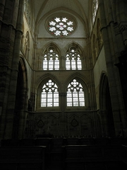Eglise Saint-Amand - Intérieur de l'église Saint-Amand de Saint-Amand-sur-Fion (51).