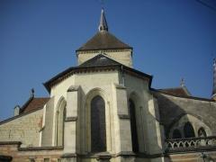 Château - Français:   Église Notre-Dame du Château de Sainte-Menehould (Marne, France), chevet