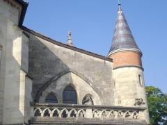 Château - Français:   Église Notre-Dame du Château de Sainte-Menehould (Marne, France), détail