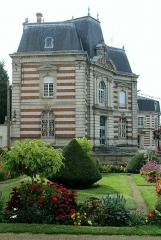 Immeubles - English: Sainte-Menehould, palace on the Place du Général-Leclerc