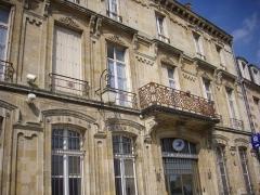 Immeubles - Français:   Poste, place du Général-Leclerc à Sainte-Menehould (Marne, France)