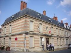 Immeubles - Français:   Sous-préfecture, place du Général-Leclerc à Sainte-Menehould (Marne, France)