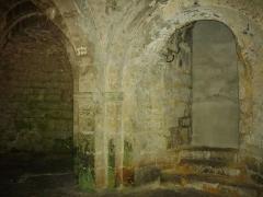 Eglise Saint-Martin - Cryptes de l'église Saint-Martin de Vertus (Marne, France)